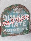 dp-151025-01 Quaker State / 30's-40's Metal Sign