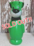 ct-151027-09 Huckleberry Hound / 60's Plastic Bowling Pin Figure