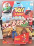 """ct-151014-30 TOY STORY / Woody Think Way 90's Action Figure """"Kicking Woody"""""""