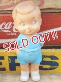 ct-151104-16 Sun Rubber / 50's Rubber Doll Boy (Blue)