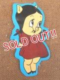 ct-151110-09 Petunia Pig / 70's Puffy Sticker
