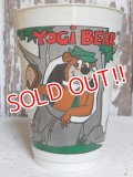 ct-151201-54 Yogi Bear / 7 ELEVEN 70's Plastic Cup