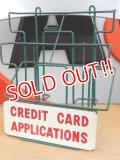 dp-151212-04 Credit Card Applications / Vintage Wire Rack