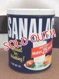 dp-151224-02 SANALAC / Vintage Instant Milk Can