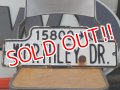 """dp-160120-06 Vintage EnameI Road Sign """"WOTHLEY DR."""""""