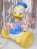ct-160215-01 Donald Duck / 60's Pull Toy