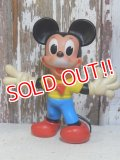 ct-160309-06 Mickey Mouse / Ledraplastic 60's Rubber doll