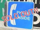 dp-160401-23 Vintage Phone Sign