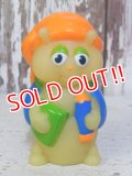 ct-160409-07 Glo Worm / Hasbro 80's Finger Puppet