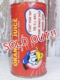 ct-150217-17 Donald Duck / 60's-70's 12fl oz.Orange Juice Can