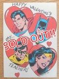 ct-160512-01 DC Comics / 80's Greeting Card