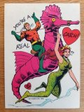 ct-160512-01 Aquaman / 80's Greeting Card