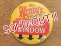ct-160601-08  Wendy's / Vintage Pinback