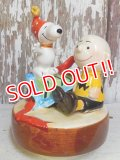 ct-160603-21 Snoopy & Charlie Brown / Schmid 80's Musical Box