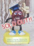 "ct-160615-19 California Raisins / 1988 PVC ""The Graduates Justin X. Grape"""