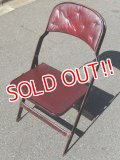 dp-160615-06 Clarin / Vintage Folding Chair (A)