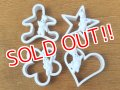 ct-160701-01 Pillsbury / Poppin Fresh 90's Plastic Cookie Cutter set