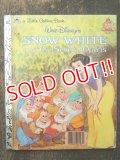 bk-160608-10 Snow White / 80's Little Golden Book