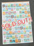 ct-160615-17 PEANUTS / 70's Uncut Trading Cards Poster