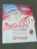 "ad-151103-01 Dairy Queen / 2000's Store Use Poster ""Strawberry Shortcake"""