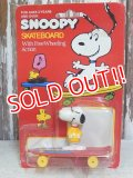 "ct-160712-14 Snoopy / AVIVA 70's Skateboard ""Joe Cool"""