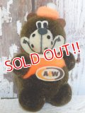 ct-160823-06 A&W / Great Root Bear 80's mini Plush