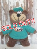 ct-160823-07 A&W / Great Root Bear 1998 mini Plush Doll