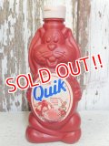 ct-160823-14 Nestlé / Quik Bunny 80's-90's Strawberry Syrup Bottle