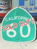 dp-160901-07 Road Sign CALIFORNIA 60