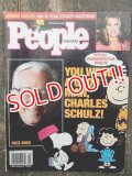 ct-160901-06 People Magazine / February 28,2000 PEANUTS