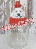 dp-161015-07 Bosco / Hazel Atlas 60's Clown Glass Jar