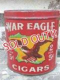 dp-161015-05 WAR EAGLE CIGARS / 40's Tin Can