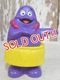 ct-161001-13 McDonald's / Grimace 1996 Meal Toy