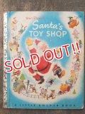 bk-160706-07 Walt Disney's SANTA'S TOY SHOP / 50's Picture Book