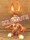 ct-161003-42 Nestlé / Quik Bunny 90's Mini PVC Figure (A)