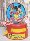 ct-161110-15  Mickey Mouse & Minnie Mouse / 70's-80's Gumball Machine