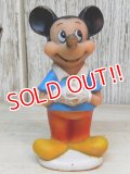 ct-161218-01 Mickey Mouse / 70's-80's Soft Vinyl Doll