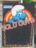 ct-161218-05 Smurf / 1980's Blackboard