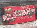 dp-170111-10 PIONEER SEED CORN / Vintage Metal Sign