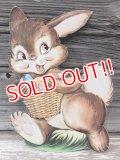 dp-170306-09 Easter Bunny / Vintage Paper Decoration