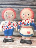ct-170401-07 Raggedy Ann & Andy / 1960's Soft Vinyl Doll