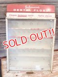 dp-170401-01 Johnson & Johnson / Vintage Dental Floss Display Rack