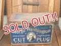 dp-170601-15 George Washington / 1910-1920 Cut Plug Smoke Can