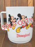 ct-170605-28 Mickey Mouse / Disneyland 1990's Plastic Mug