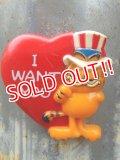 "ct-170605-22 Garfield / 1978 Magnet ""Uncle Sam"""