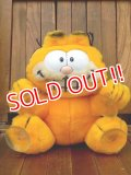 "ct-170605-26 Garfield / R.DAKIN 1980's Plush Doll ""Stuck on You!"""