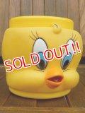 ct-170701-27 Tweety / Applause 1990's Plastic Face Mug