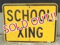 """dp-170803-30 Road Sign """"School Xing"""""""