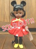 ct-170803-38 Madame Alexander / McDonald's 2004 Minnie Mouse Girl Doll