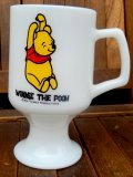 ct-170803-53 Winnie the Pooh / Federal 1960's-1970's Footed Mug
